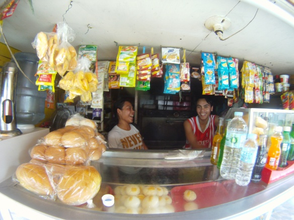 One of the many local bakeries