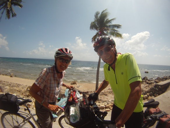 Peter and Sally, retired Americans cycling south east Asia