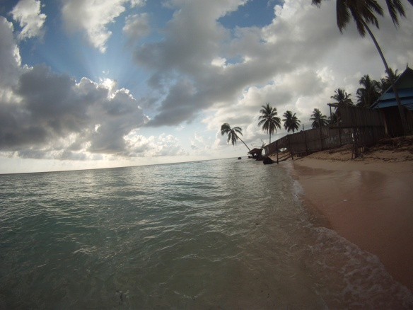 North, undeveloped side of Derawan
