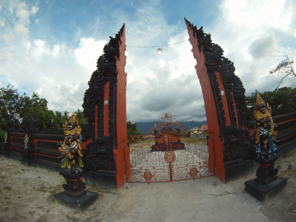Gates to the Hindu ashram