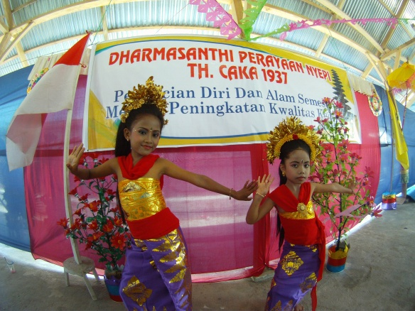 Young dancing girls