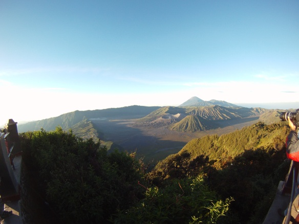 Hours after sunrise, Bromo Volcano