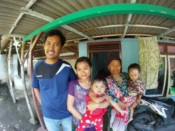 My local hosts, East Java