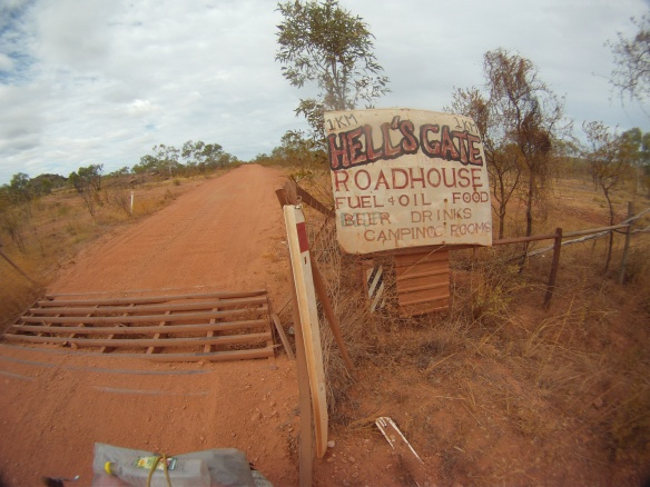 Appropriately named roadhouse in the middle of nowhere