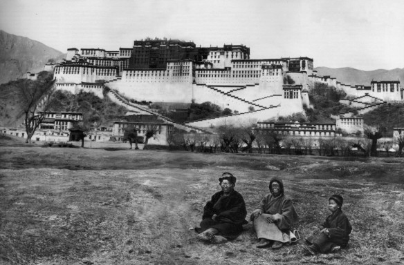 Old potala palace