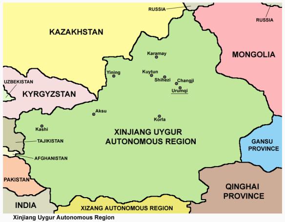 Xinjiang_map